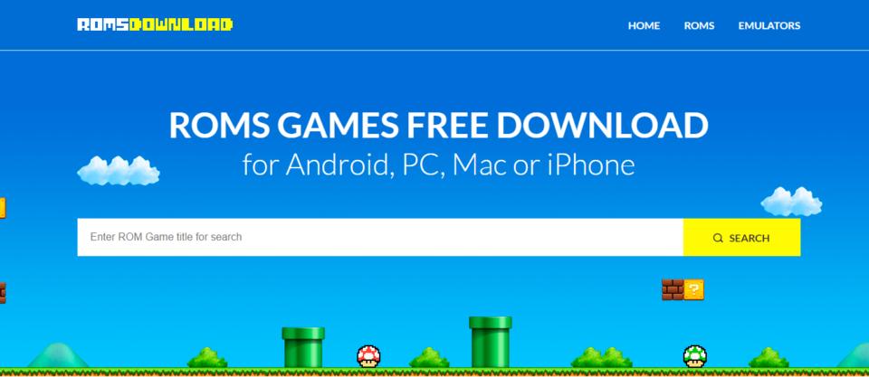 Download de ROMS